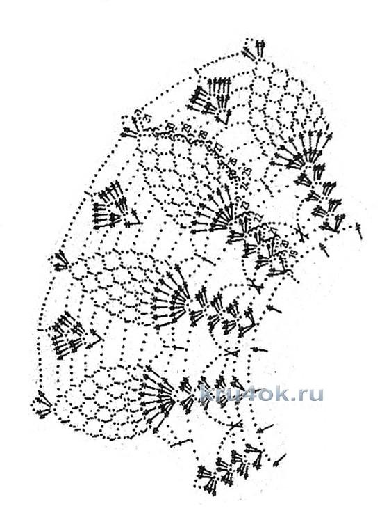 """钩针""""菠萝花""""领饰 - maomao - 我随心动"""