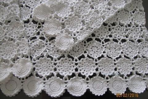 Летняя туника Цветочное эхо. Работа Арины вязание и схемы вязания