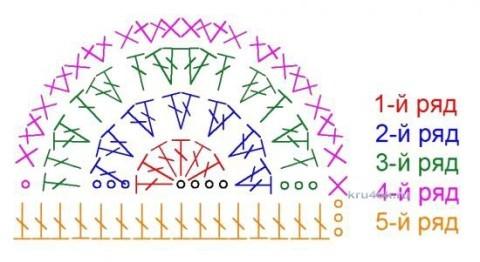 Пинетки - кеды крючком. Работы Анастасии Филатовой вязание и схемы вязания