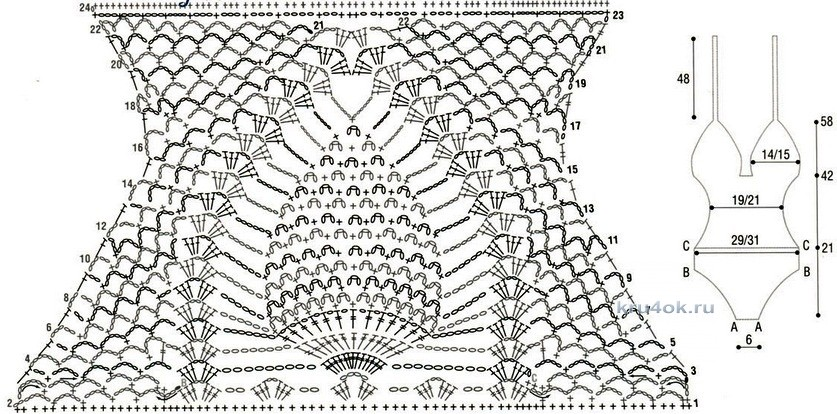 Схемы вязание обычно