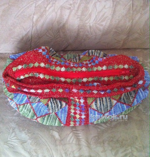 Пляжная сумка крючком. Работа Татьяны вязание и схемы вязания