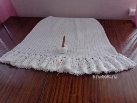 Вязаный сарафан. Работа Надежды Лавровой вязание и схемы вязания