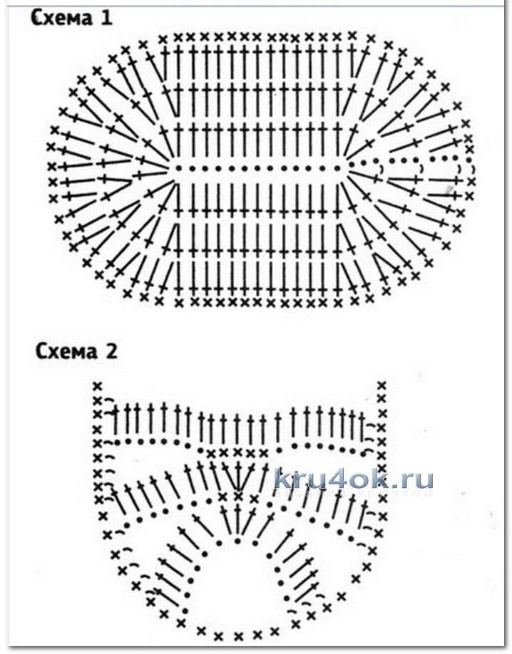 пинетки сандалики крючком работы анастасии филатовой