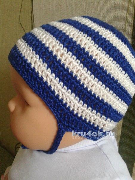 Детская шапочка. Работы Ирины вязание и схемы вязания
