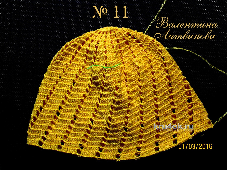 Схема вязания детской панамы фото 432