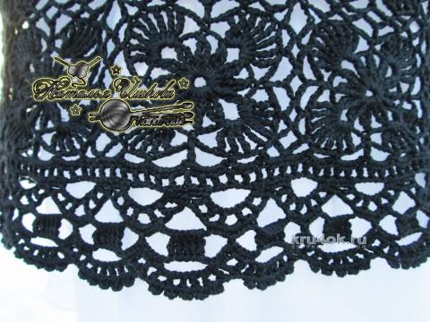 Платье День и ночь. Работа Натальи Ишковой вязание и схемы вязания