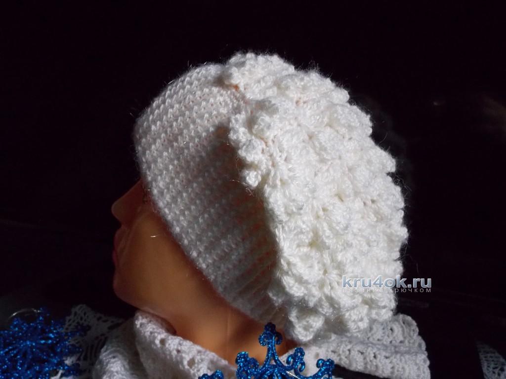 Вязаное платье шарф шапка