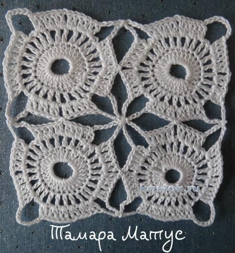 Туника крючком. Мастер - класс от Тамары Матус вязание и схемы вязания