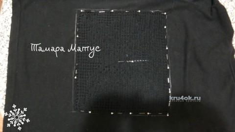 Вторая жизнь футболки. Работа Тамары Матус вязание и схемы вязания