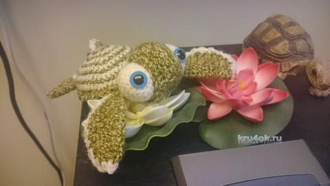 Вязаные черепашки. Работы Ксении Никоновой вязание и схемы вязания
