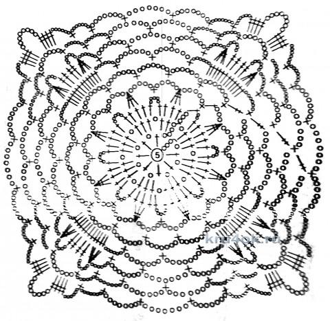 Вязаные пляжные туники. Работы Тамары Матус вязание и схемы вязания