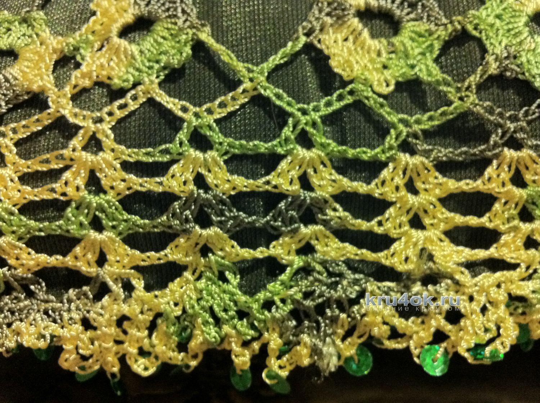 декоративные подушки вязание схемы