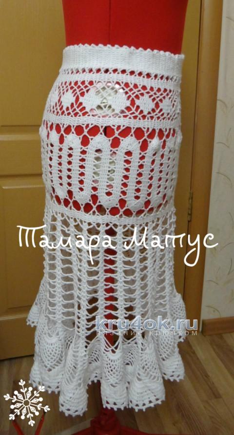 Юбка Лето. Работа Тамары Матус вязание и схемы вязания