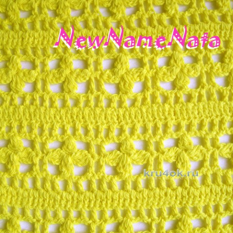 Ажурный шарф. Работа NewNameNata вязание и схемы вязания