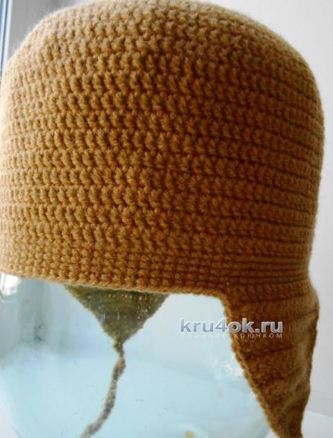 Детская шапочка Лёва.  Работа Галины Лукериной вязание и схемы вязания