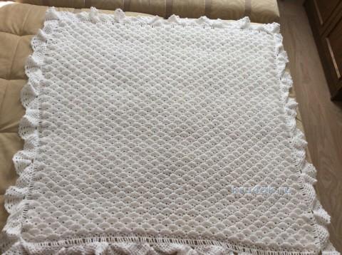 Детский плед Словно облако. Работа МаринаМи вязание и схемы вязания