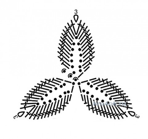 Кофточка Скрещенные прямые. Работа Галины Леоновой вязание и схемы вязания