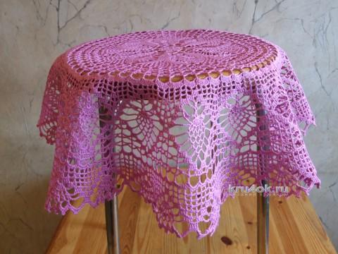 Мини - скатерть. Работа Галины вязание и схемы вязания