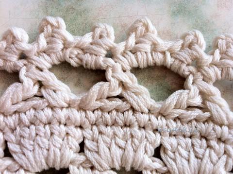 Панама летняя. Работа Надежды Борисовой вязание и схемы вязания