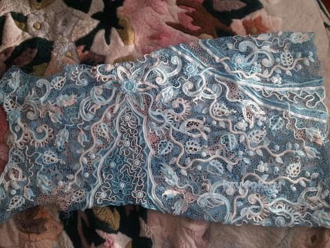 Платье в стиле ирландское кружево