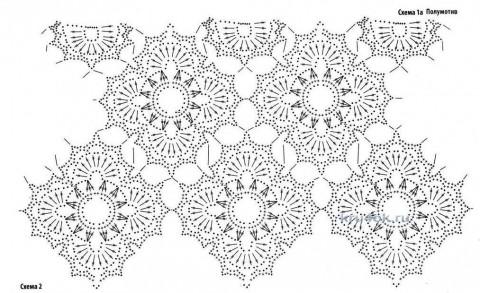 Платье Весеннее настроение. Работа Inna Aliyeva вязание и схемы вязания