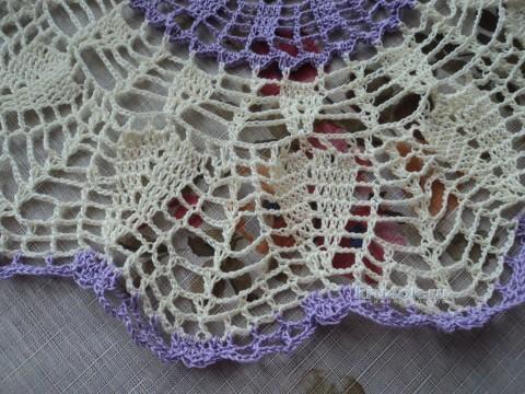 Салфетка крючком. Работа Ольги вязание и схемы вязания
