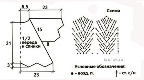 Вязаный кардиган Крылья бабочки. Работа Ирины Стильник вязание и схемы вязания