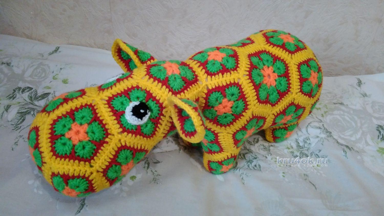 Вязание крючком африканский цветок схема фото 911