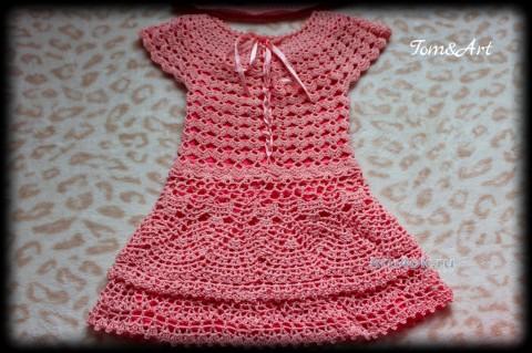 Платье и панама для девочки. Работы Тамары вязание и схемы вязания