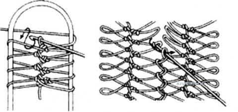 Черный палантин на вилке. Работа Марины Михайловны вязание и схемы вязания