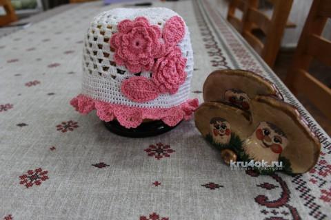 Комплект для девочки. Работа Людмилы вязание и схемы вязания