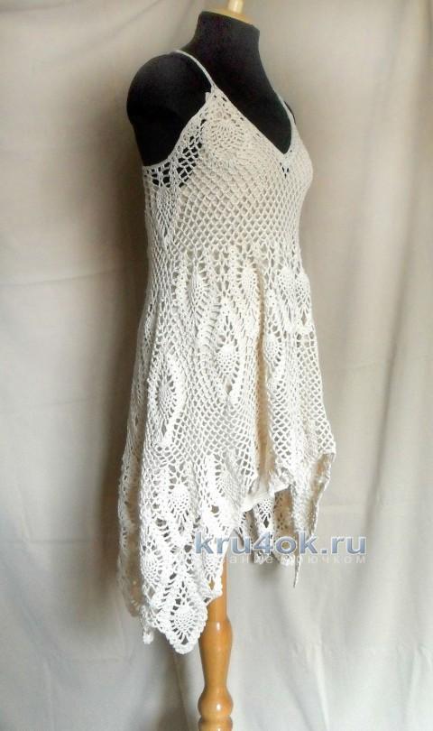 Сарафан по мотивам платья от Free People вязание и схемы вязания