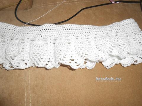 Вязаное платье. Работа Татьяны вязание и схемы вязания