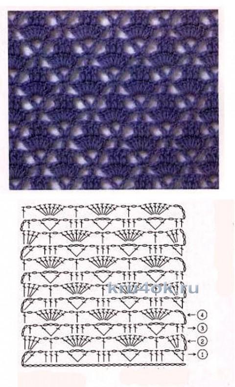 Вязаный кардиган. Работа Людмилы вязание и схемы вязания