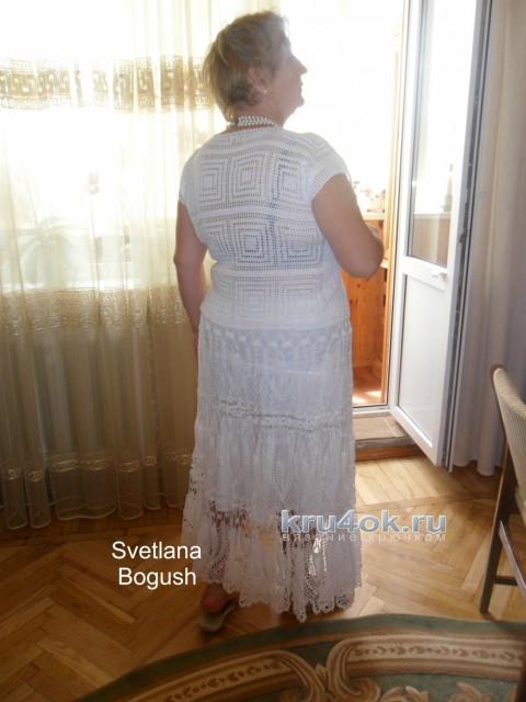 Летний костюм крючком. Работы Светланы Богуш вязание и схемы вязания