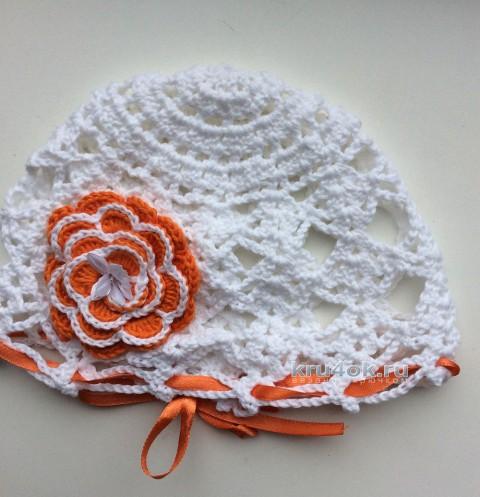 Винтажная панама крючком для самых маленьких вязание и схемы вязания