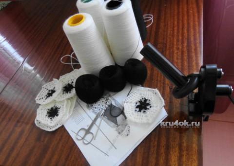 Женский берет крючком. Работа Надежды Лавровой вязание и схемы вязания