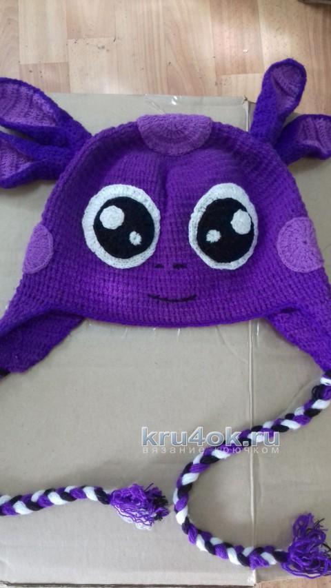 Детские зверошапки. Работы Ольги вязание и схемы вязания