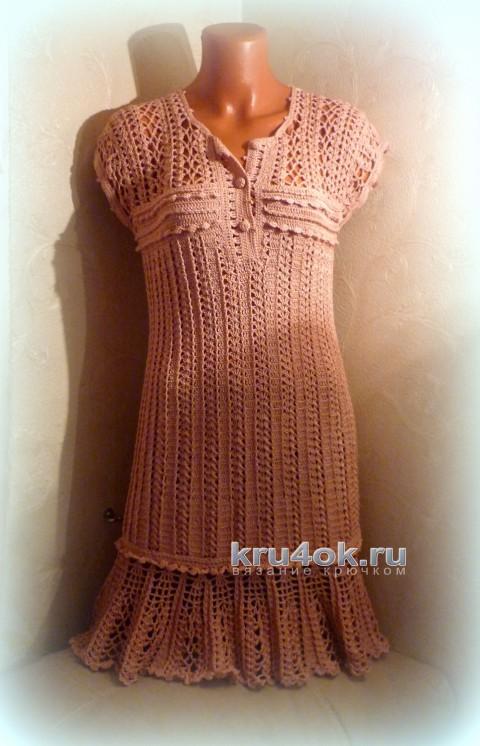 Платье по мотивам работы Ванессы Монторо вязание и схемы вязания