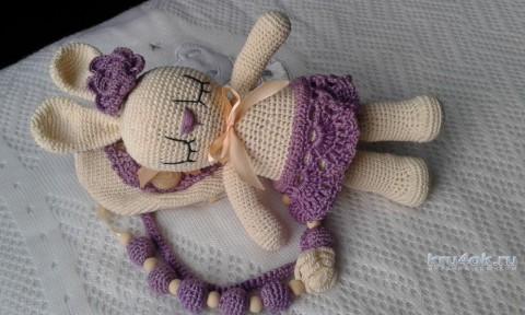 Подарочный комплект Спящая красавица. Работа Екатерины Родиной вязание и схемы вязания