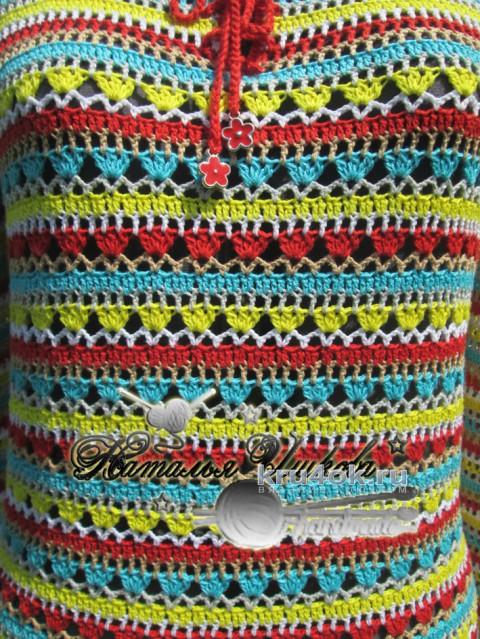 Туника Настроение. Работа Натальи Ишковой вязание и схемы вязания