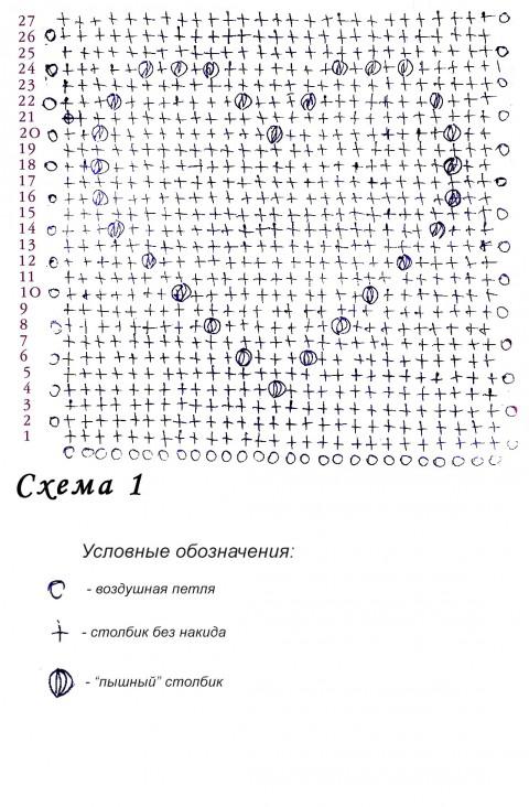 Схемы вязания крючком подушки