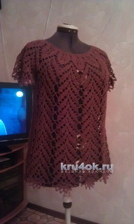 Туники из шерсти. Работы Елены Саенко вязание и схемы вязания
