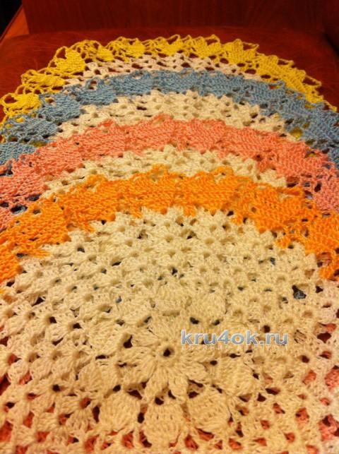 Ажурные салфетки. Работы Татианы вязание и схемы вязания