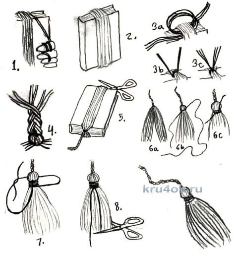 Бактус крючком. Работа Александры вязание и схемы вязания
