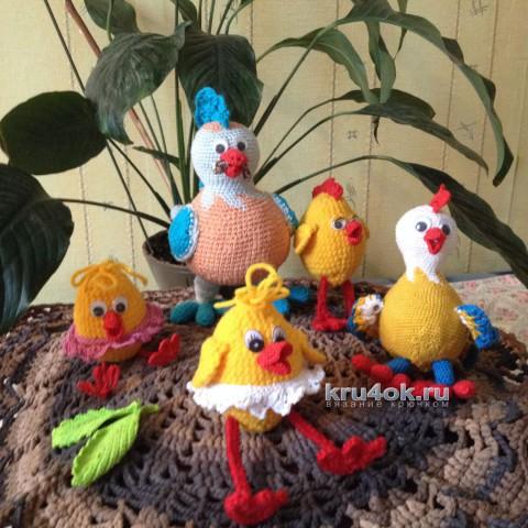 Вязаные игрушки. Работы Марины вязание и схемы вязания