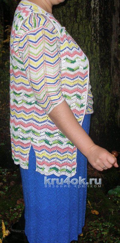 Юбка и жилет крючком. Работы Елены вязание и схемы вязания