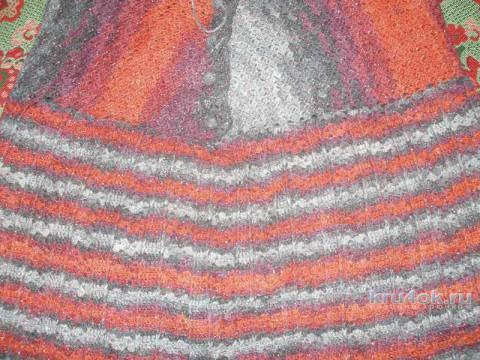 Теплая юбка крючком. Работа Елены вязание и схемы вязания