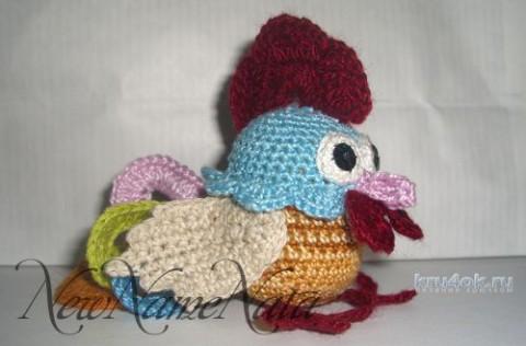Вязаная игрушка петушок. Работа NewNameNata вязание и схемы вязания