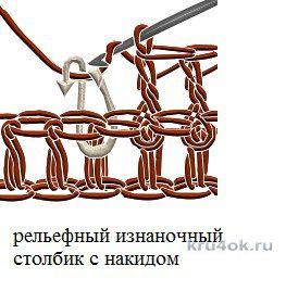 Юбка-сарафан Меандр. Работа Ирины вязание и схемы вязания
